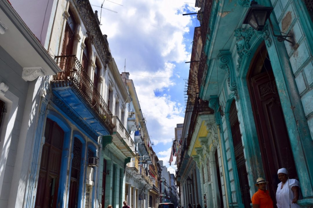 Exploring the streets of Old Havana