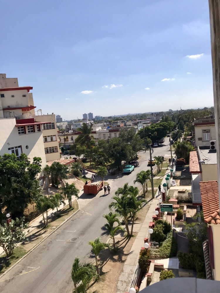 View from Casa balcony