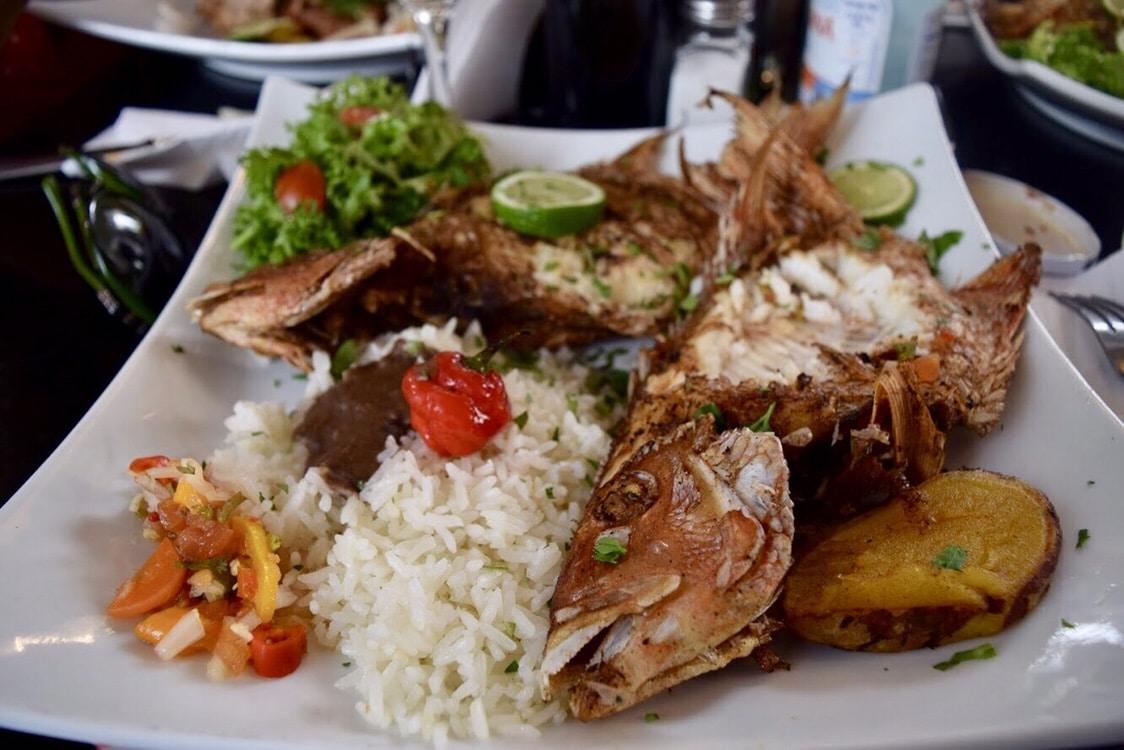 Fish at El Cocinero