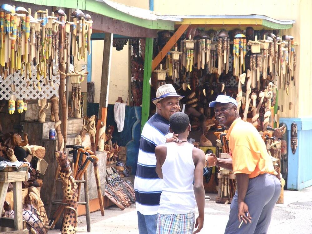 Nassau Bahamas Market Style by Belle
