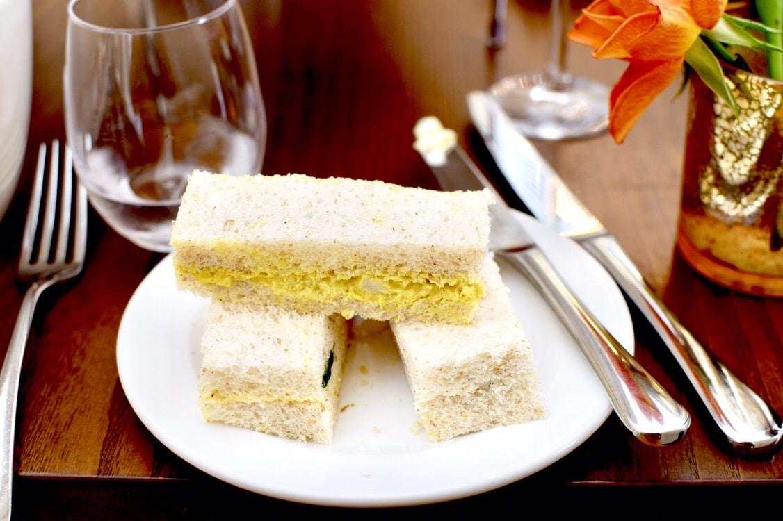Blenheim Palace Orangery Afternoon Tea Sandwiches