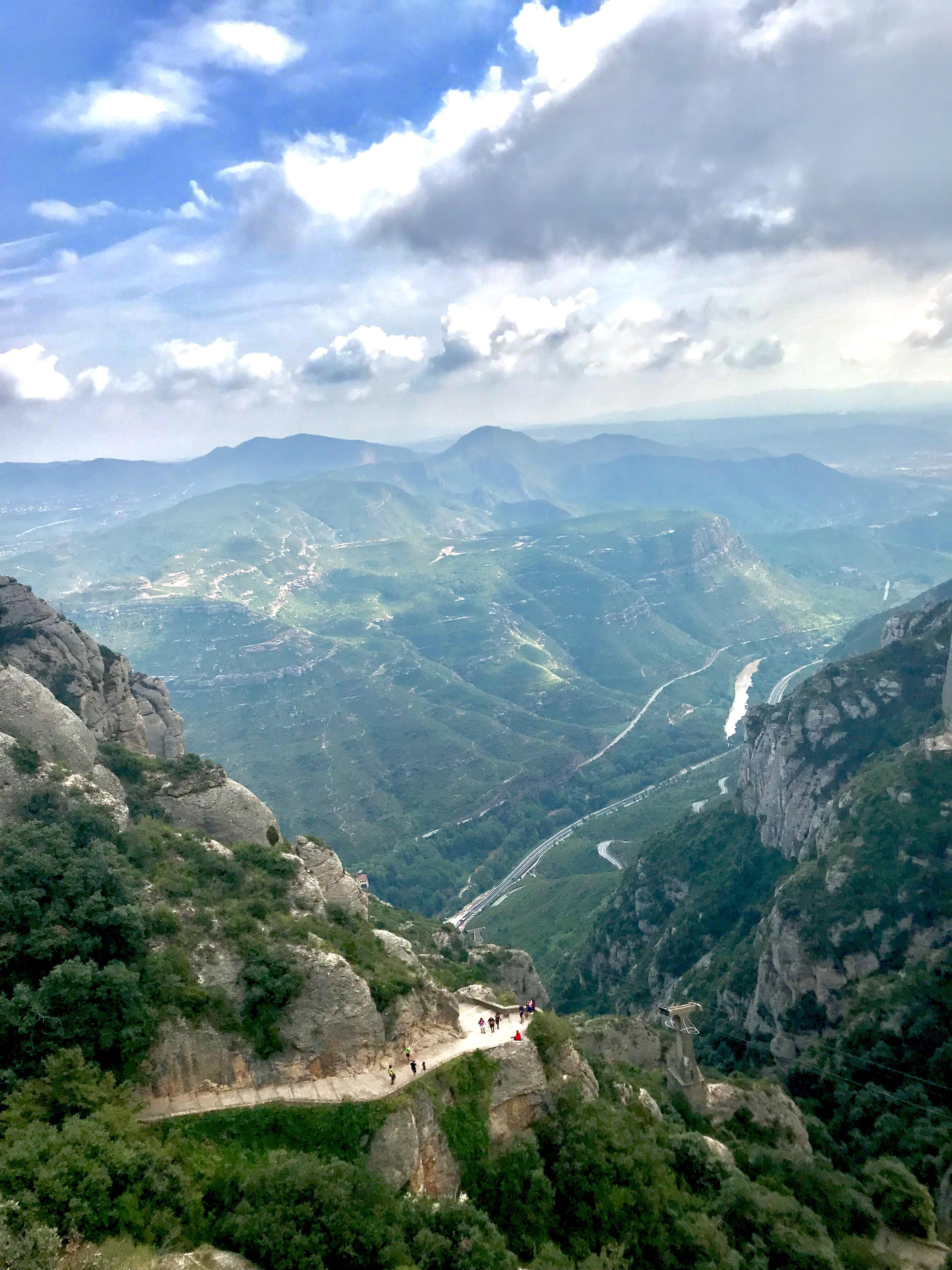 Barcelona Montserrat View 2 Belle in Transit